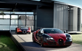 Обои bugatti veyron, grand sport, vitesse, la finale, supercar, hypercar