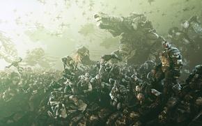 Картинка армия, саранча, Gears of War