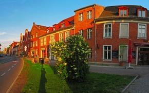 Картинка город, фото, улица, дома, Германия, Potsdam