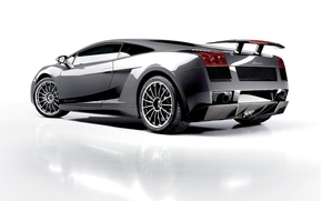 Обои белый, тюнинг, Lamborghini, Superleggera, Gallardo