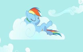 Обои Rainbow Dash, My little pony, MLP, MLP:FIM