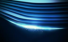 Картинка линии, синий, абстракция, фон, wallpaper, lacza, холодные тона
