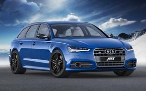 Картинка Audi, ауди, ABT, универсал, Avant, 2014, авант, RS 6-R