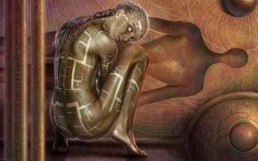 Картинка девушка, фентези, Tiziano Baracchi