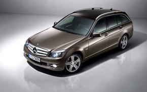 Картинка Mercedes-Benz, мерседес, универсал, C-Class, S204