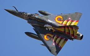 Картинка истребитель, многоцелевой, Dassault Mirage, 2000D