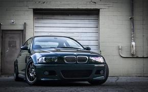 Картинка BMW, БМВ, Фары, Перед, E46