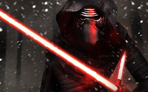 Картинка Movie, Star Wars Episode VII: The Force Awakens, Kylo Ren