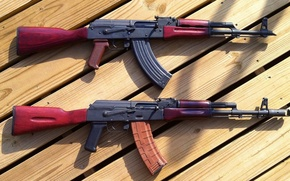 Картинка оружие, автомат, Калашникова, калаш, Ак-47, AKM