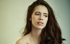 Картинка девушка, актриса, красавица, girl, sexy, eyes, smile, beautiful, model, pretty, beauty, lips, face, hair, brunette, …
