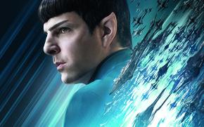 Картинка Star Trek, Galaxy, Girls, Zachary Quinto, Chris Pine, Idris Elba, EXCLUSIVE, Beyond, Karl Urban, Movie, ...