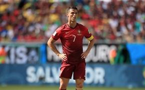 Картинка Футбол, Португалия, Cristiano Ronaldo, Форма, Бразилия, Роналду, Football, Реал Мадрид, Real Madrid, Portugal, Криштиану Роналду, …