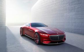 Обои купе, электромобиль, концепт, Майбах