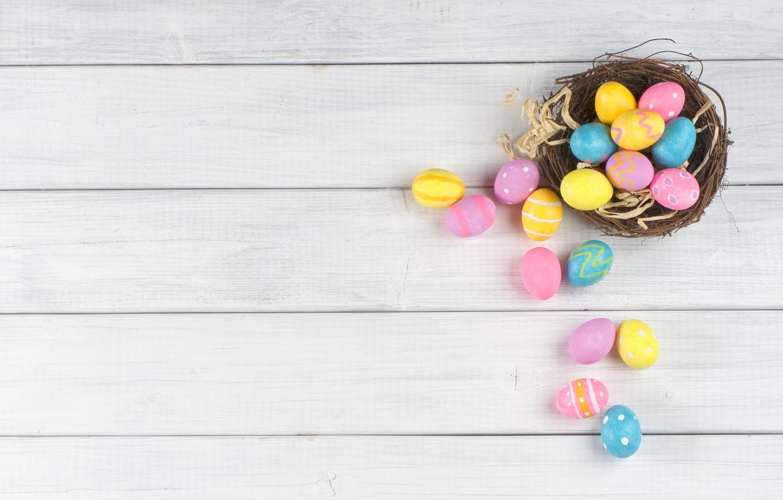 Фото обои яйца, Пасха, Easter, eggs