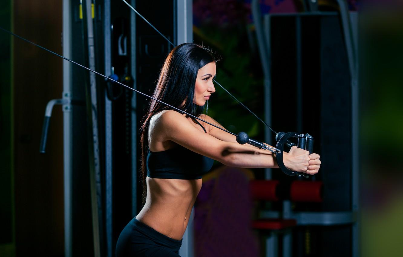 Фото обои workout, fitness, gym, exercise machine