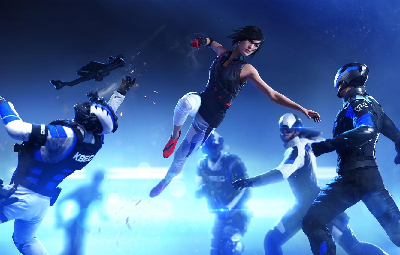Фото обои Девушка, Electronic Arts, DICE, Faith, Фейт, EA DICE, Mirror's Edge: Catalyst, Catalyst, Mirrors Edge: Catalyst