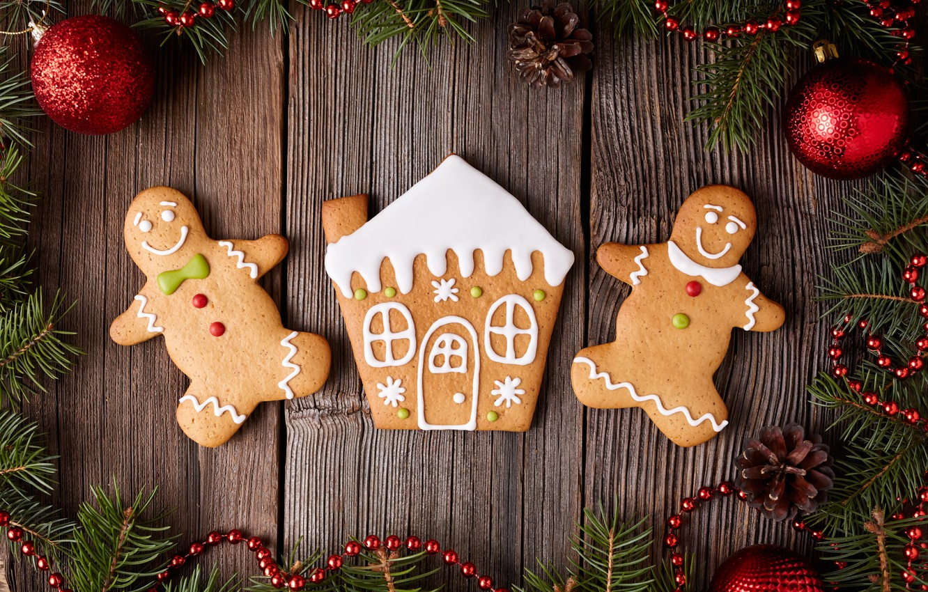 Обои christmas, cookies, decoration, рождество, xmas, Merry. Новый год foto 12