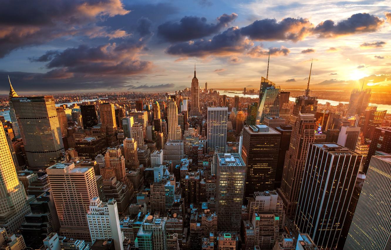 Обои new york city, new york, центр нью йорка, new york. Города foto 9