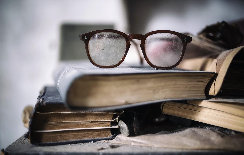 Обои книги, очки. Разное foto 7