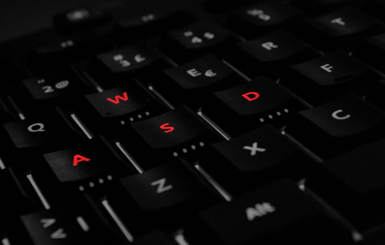 Фото обои кнопки, клавиатура, WASD