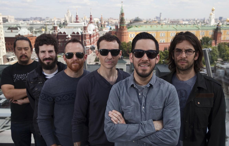 Фото обои Москва, Moscow, Linkin Park, Линкин Парк