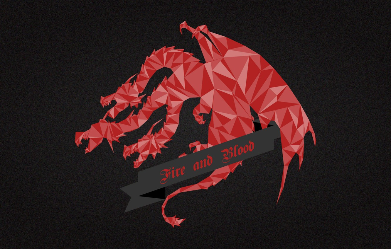 Фото обои red, dragon, A Song of Ice and Fire, Game of Thrones, House Targaryen, Fire and …