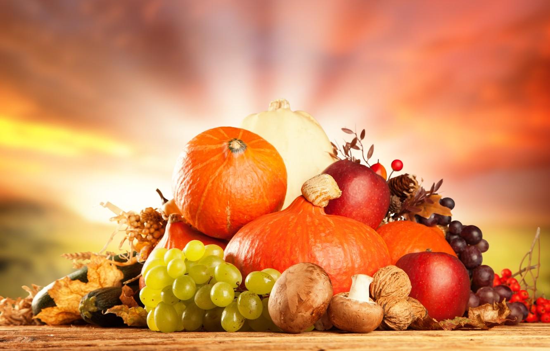 Обои Грибы, фрукты, овощи. Праздники foto 10