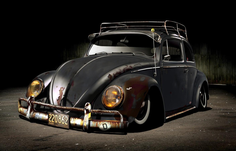 Фото обои volkswagen, cars, beetle