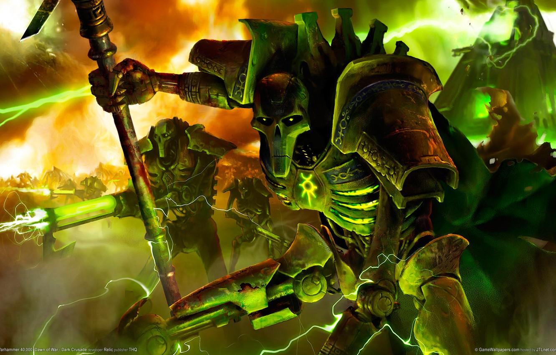 Фото обои Warhammer 40000, Некроны, Necron
