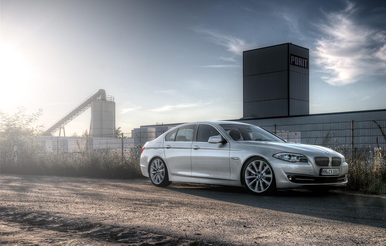 Фото обои BMW, F10, 5 Series, 520d