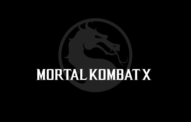 Обои логотип, смертельная битва, Mortal kombat x. Игры foto 7