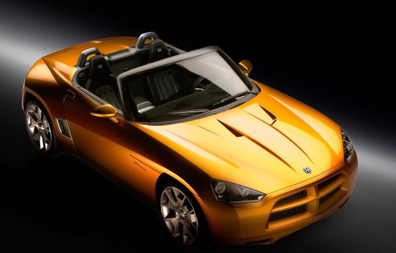 Фото обои желтый, concept, demon, Dodge