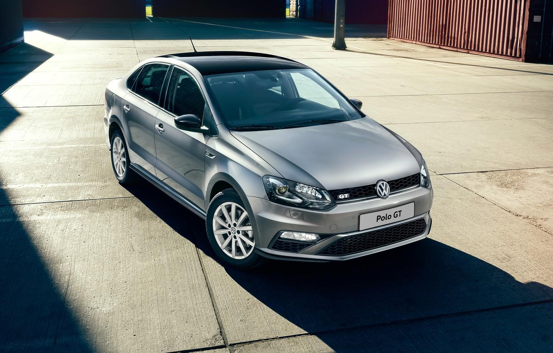 Фото обои Volkswagen, фольксваген, Polo, поло