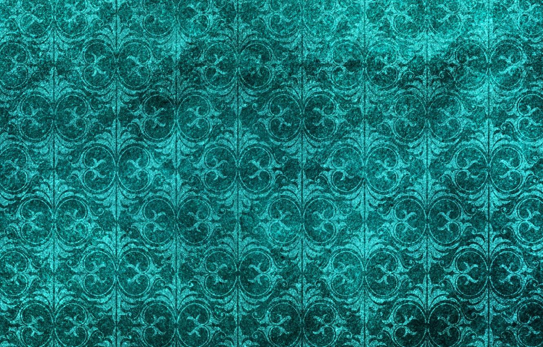 Фото обои цветы, зеленый, фон, узор, текстура