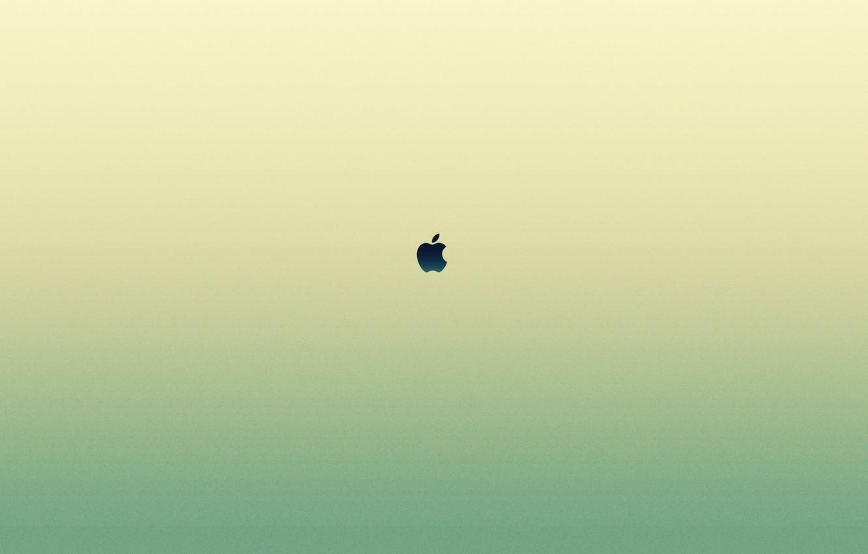 Фото обои знак, apple, минимализм, лого, logo, minimalism, sign, бренд, brand, 2560x1600