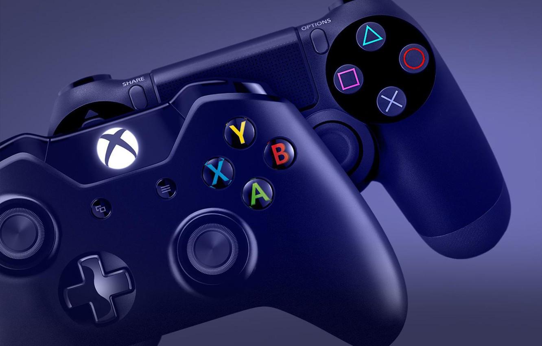 Обои ps4, playstation, dualshock 4, геймпад, sony. HI-Tech foto 12