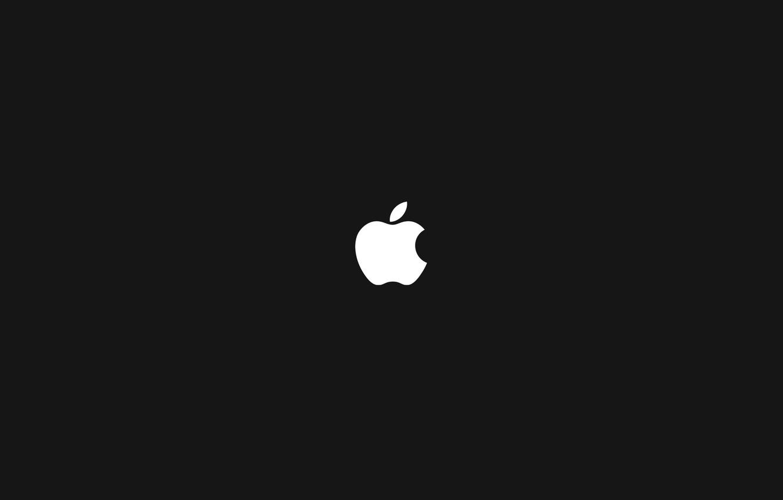 Обои яблоко, темный фон, apple. HI-Tech foto 7