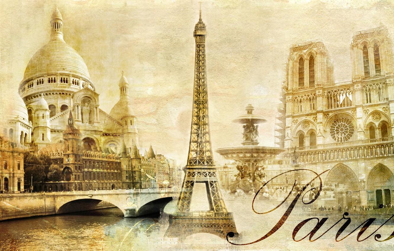 Фото обои france, parise, effel