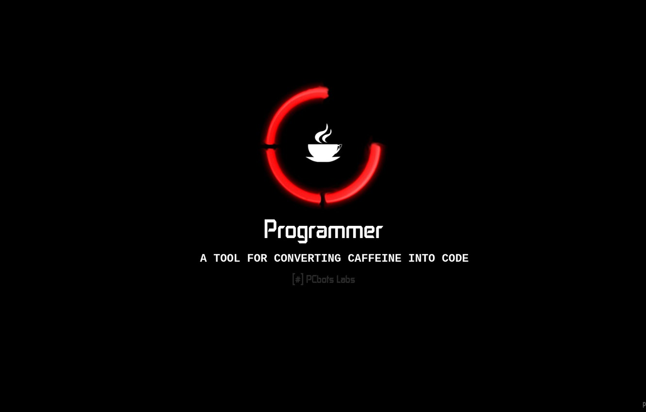 Фото обои Java, Programmer, Coder, By PCbots