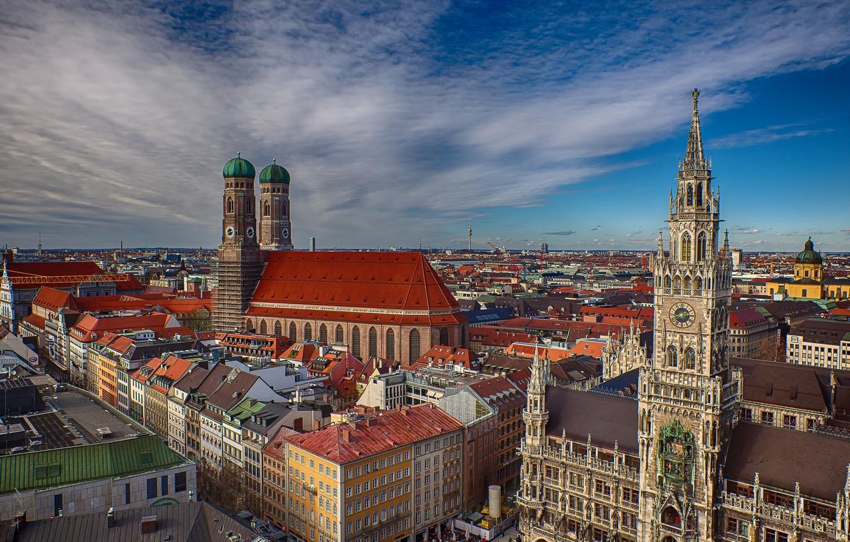 Обои мюнхен, здания, крыши, Munich, Germany, германия. Города foto 7
