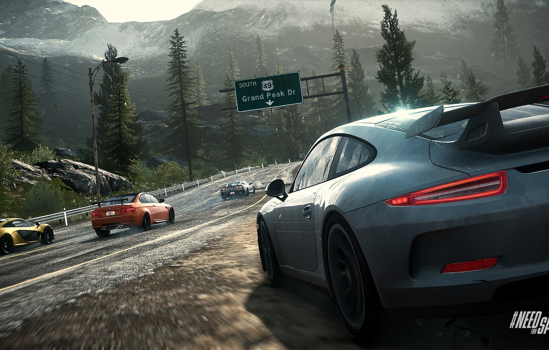Обои Porsche 911, bmw m3 gts, mclaren p1, corvette c7. Игры foto 6