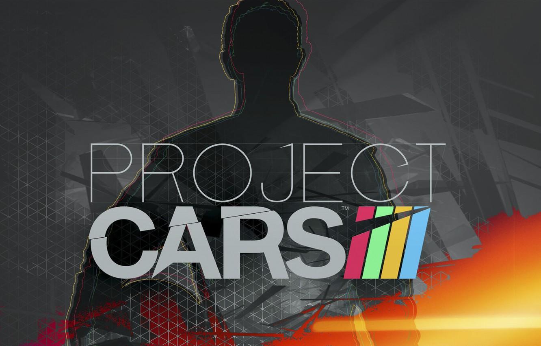 Фото обои logo, race, project cars, simulator