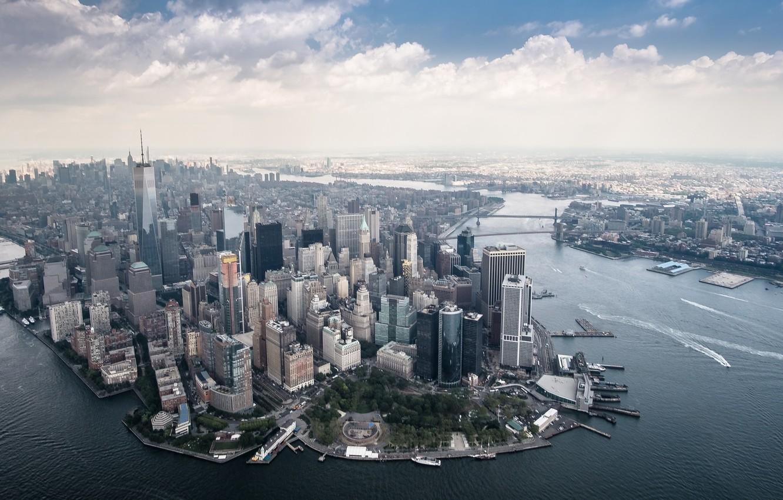 Фото обои city, Manhattan, architecture
