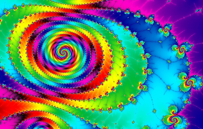 Обои спираль, узор, свет, Цвет. Абстракции foto 8