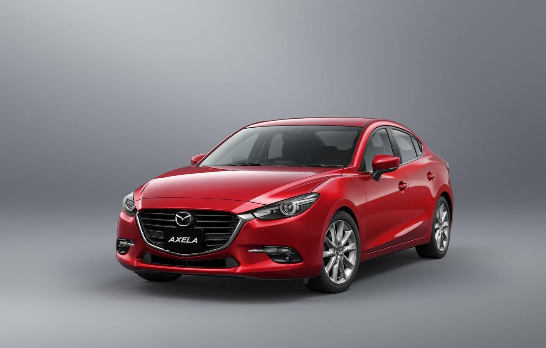 Фото обои фон, седан, Mazda 3, мазда, Sedan