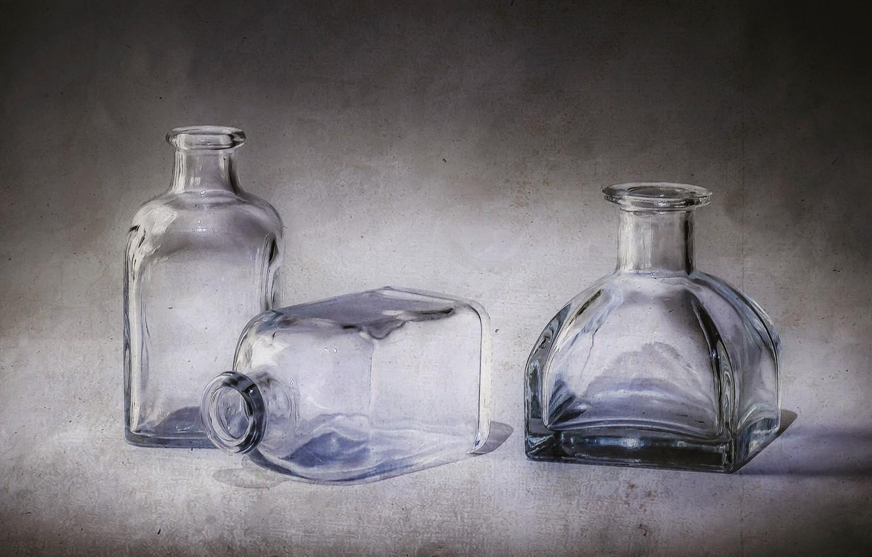 Обои стекло, натюрморт, бутылка, цветы, графин. Разное foto 8