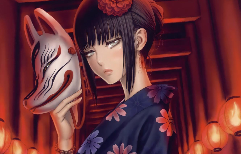 Картинки маски аниме