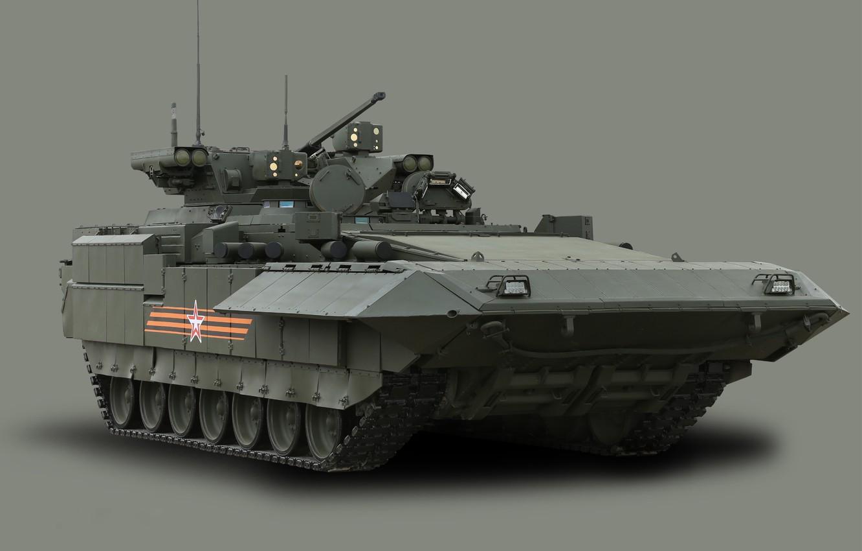 Фото обои георгиевская лента, 9 мая, бмп, бронетехника, вс россии, боевая машина пехоты, вооруженные силы, армата, парад …
