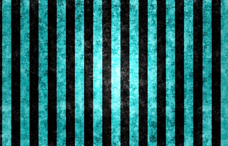Фото обои линии, полосы, чёрный, голубой