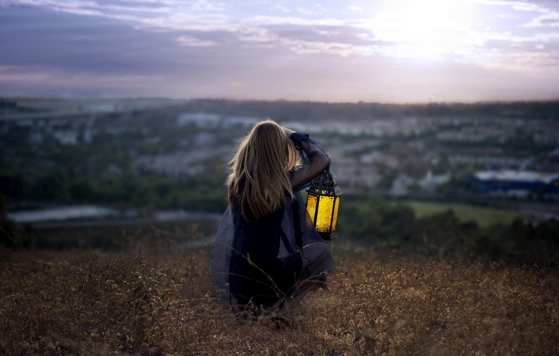 Обои настроение, Девочка, лампа. Настроения foto 8